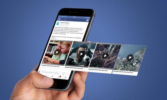 quảng cáo video facebook adsota